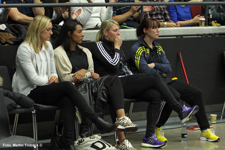 Sabina Jacobsen, Jamina Roberts, Jenny Ahlm, Maria Olsson